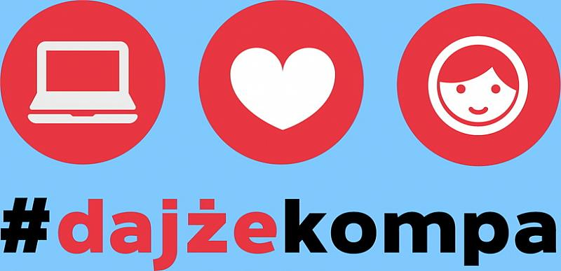 #DajżeKompa krakowskim uczniom