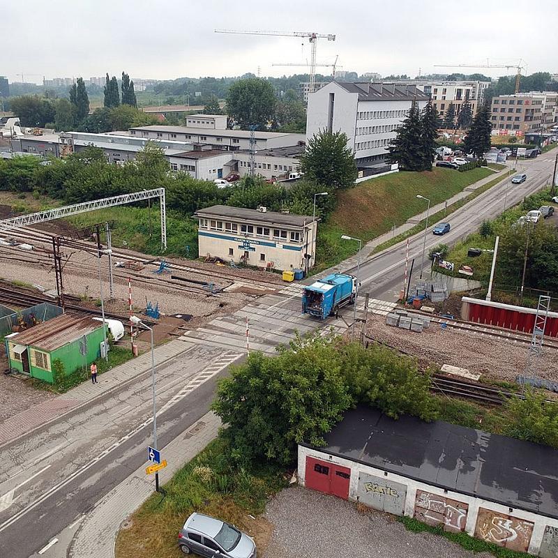 Zamknięcie przejazdu kolejowego przy ul. Fredry