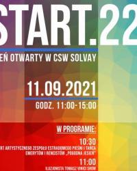 START.22 / dzień otwarty w CSW Solvay