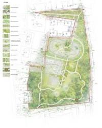Park w Łagiewnikach - koncepcja