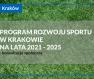Programu Rozwoju Sportu w Krakowie na lata 2021-2025 - ogłoszenie o konsultacjach społecznych
