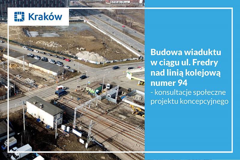 Budowa wiaduktu w ciągu ul. Fredry nad linią kolejową nr 94 – raport z konsultacji