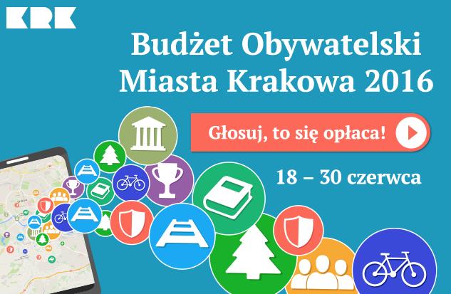Lista projektów dzielnicowych Budżetu Obywatelskiego 2016