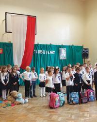Powrót Szkoły Podstawowej Nr 49 w Borku Fałęckim